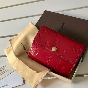 Louis Vuitton Vernis Pomme D'Amour Ludlow Wallet